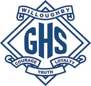Willoughby Girls High School logo